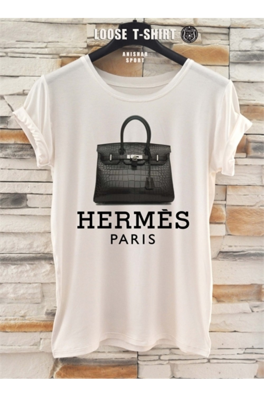 Тениска Hermes Paris