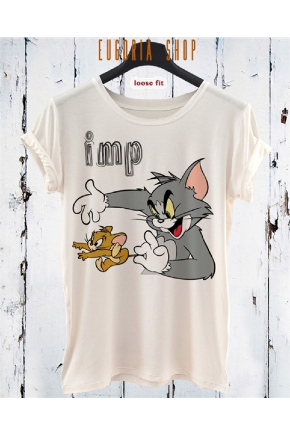 Тениска Tom and Jerry