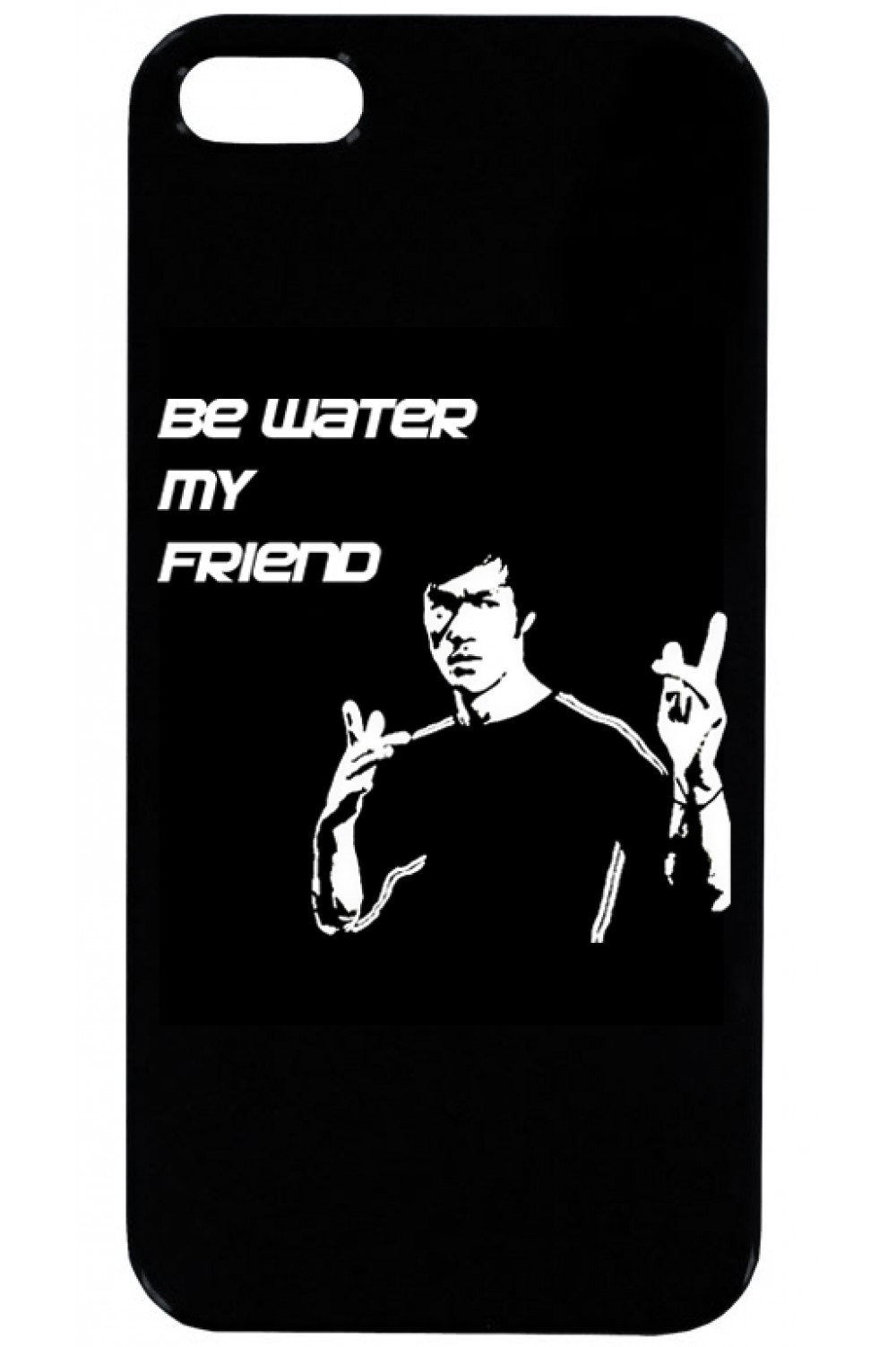 Кейс за Телефон - Bruce Lee Be water