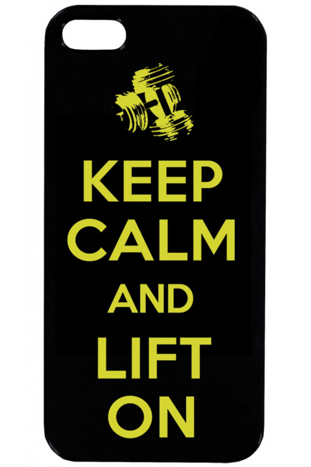 Кейс за Телефон - Keep Calm and Lift On
