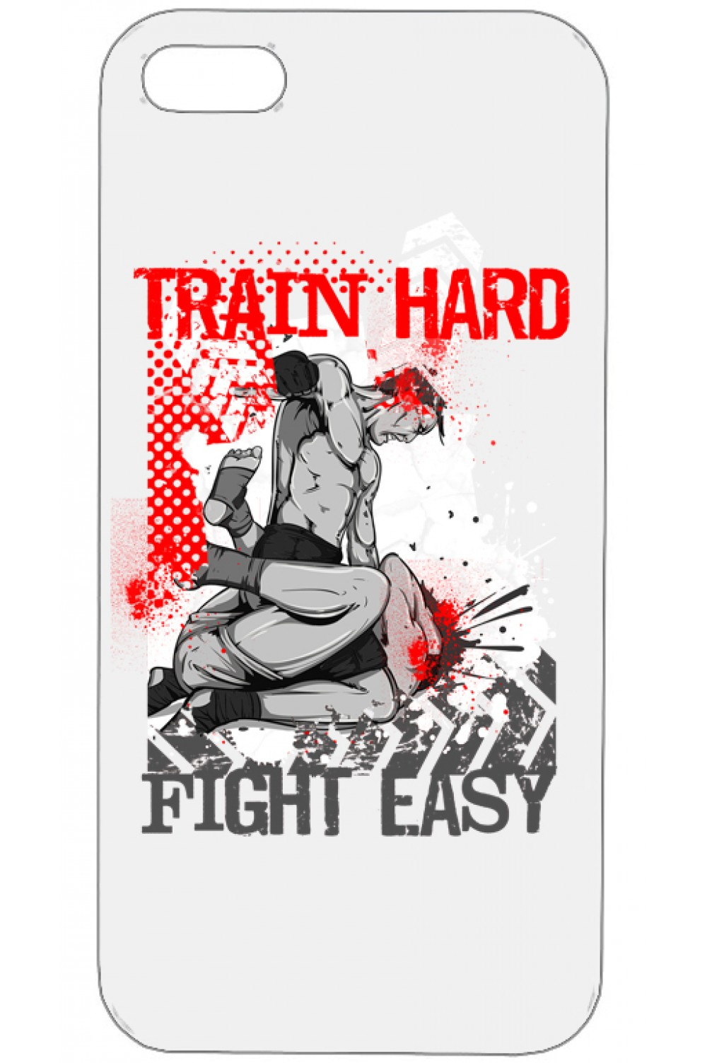 Кейс за Телефон - Train Hard Fight Easy